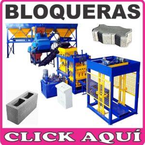 01- BLOQUERAS Y LADRILLERAS